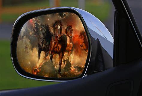 Cermin Side Mirror Persona gambar jendela menyetir refleksi kendaraan cermin
