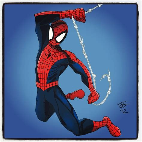 spider swinging spiderman cartoon swinging www pixshark com images