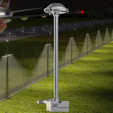 chain link fence solar lights landscapeonline design build maintain supply
