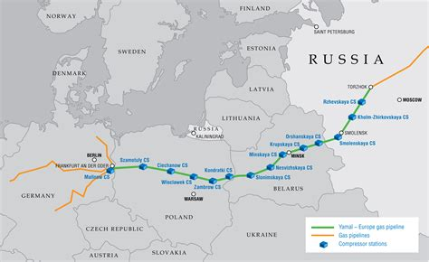 russia europe gas pipelines map chronicle of gazprom for 1996