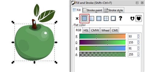 inkscape tutorial fill and stroke tips on using inkscape s fill and stroke options