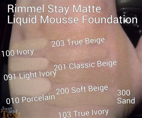 Rimmel Stay Matte Foundation jual rimmel stay matte liquid mousse foundation
