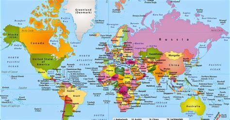 Atlas Lebgkap Global peta dunia map