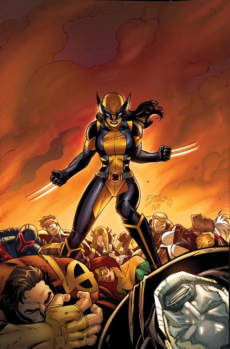 All New all new wolverine 13 enemy of the state ii look