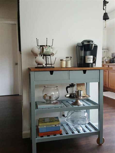 charmed crown blog diy ikea coffee cart coffee bar inspiration pinterest coffee carts