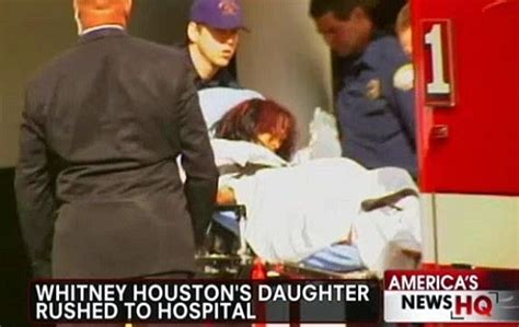 whitney houston daughter bathtub photo whitney houston s daughter found unconscious in