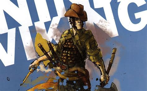 cowboy viking deluxe trade paperback books wick directors targeted for cowboy viking