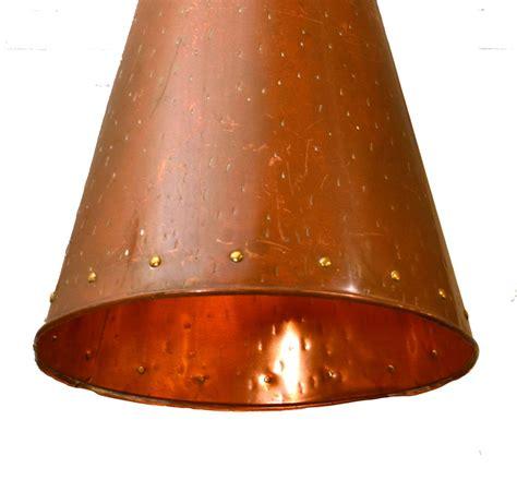 Home Interior Lights scandinavian cone shaped copper pendant lamp