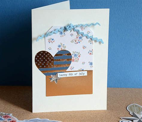 4th of july cards to make card simple 4th of july cards