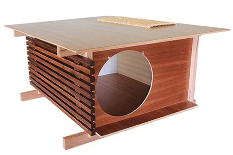 modern cat house modern post and beam cat house from davies decor hauspanther