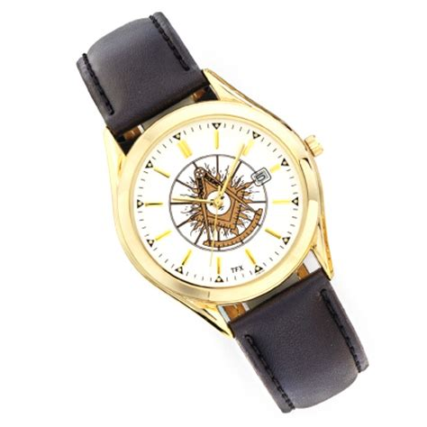 Past Master Watch with Black Leather Strap TFX by Bulova MSW 72