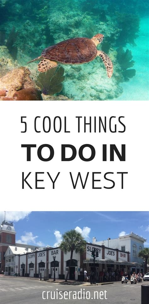 5 Things Cool And by 5 Cool Things To Do In Key West Cruise Radio