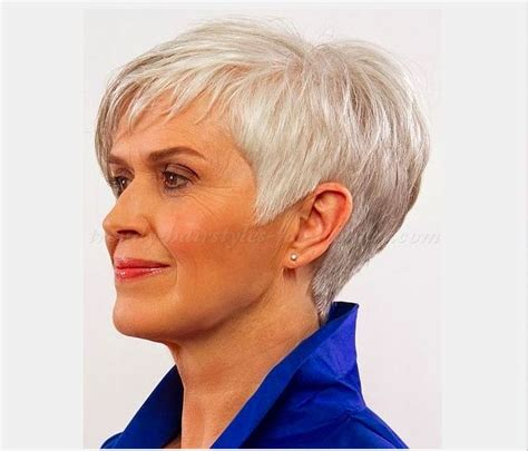 hair styles showing the back of 106 best images about short haircuts for older women on
