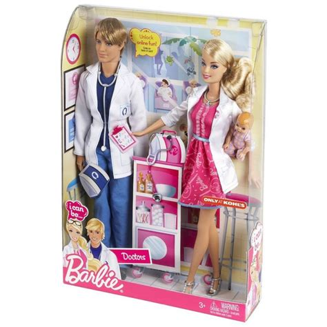 Doctor Set With Doll by Nib I Can Be A Doctor Working Together 2 Doll Set