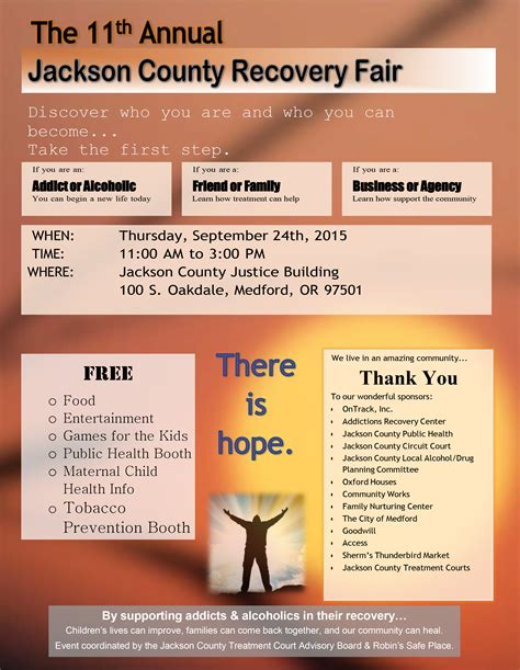 Rogue Valley Fresh Start Detox Medford Or by Addictions Recovery Center Jackson County Recovery Fair 2015