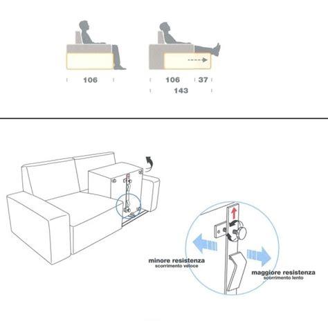 sedute divano divano con seduta estraibile attitude arredaclick