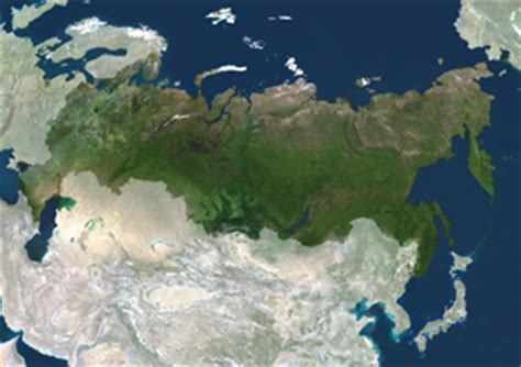 russia map satellite russia satellite digital map by planet observer from maps
