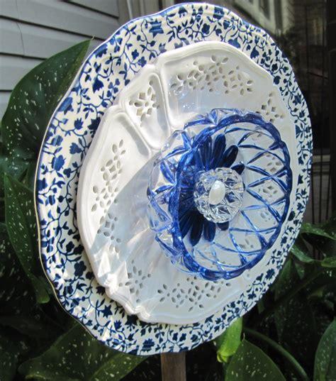 Glass Plate Garden Flowers Glass Garden Flower Garden Glass Ceramic Plate Flower Yard