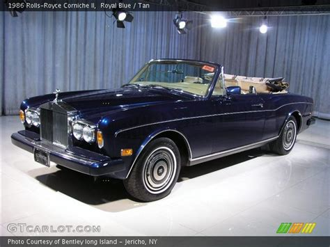 rolls royce blue interior royal blue 1986 rolls royce corniche ii interior