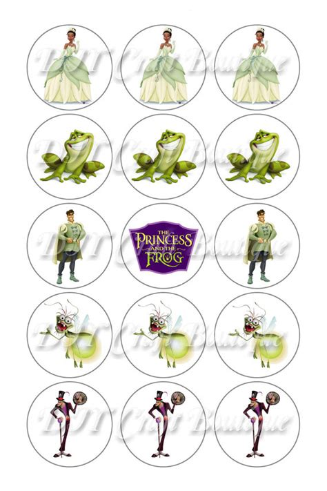 Princess And The Frog Birthday Party Printables Omg The Princess And The Frog Frog Printable