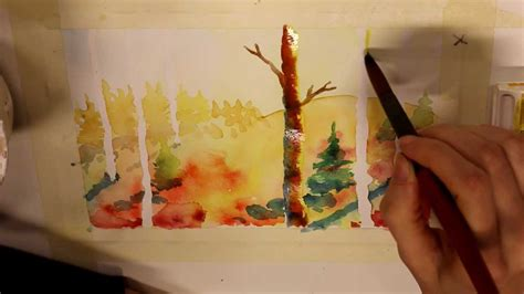 watercolor tutorial on youtube water color tutorial beginners youtube