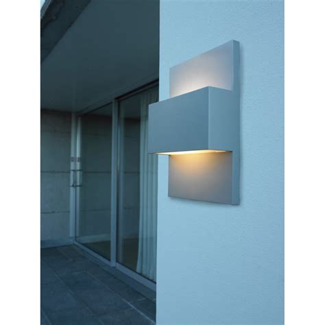 Elstead Norlys Geneve 13w Outdoor Up Down Wall Light In Up And Lights Outdoor Lights
