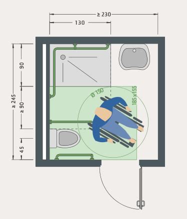 badezimmer behindertengerecht umbauen mit instatec - Rollstuhl Badezimmer