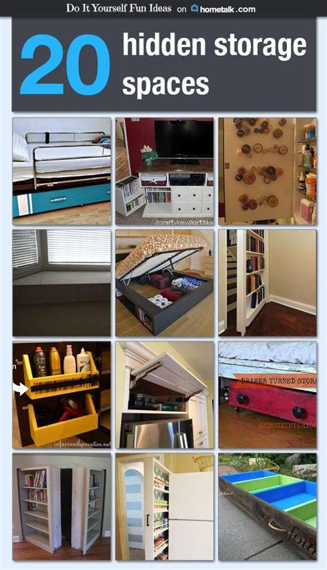 diy hidden storage 20 hidden storage spaces idea box by diy fun ideas