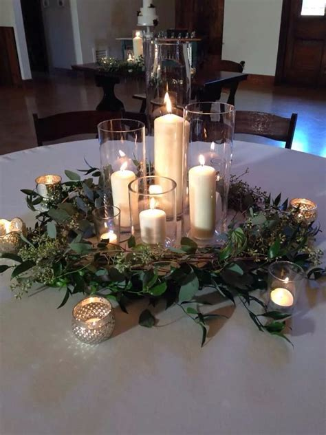 Simple and elegant winter wedding   Candlelight Ambiance