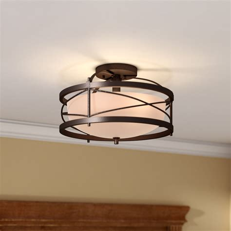 bathroom ceiling mounted light fixtures flush mount light fixtures lights and ls flush mount lighting you ll wayfair pertaining to ceiling light fixtures idea 7