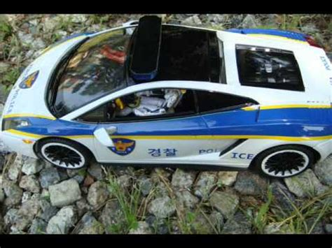 1/14 RC Lamborghini  KOREA POLICE CAR   YouTube
