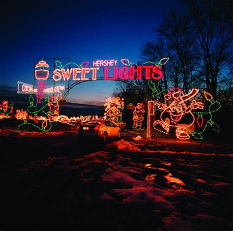hershey park sweet lights discount visiting hersheypark christmas candylane with live