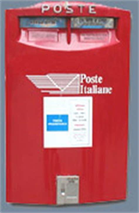 cassetta della posta inglese informazioni utili