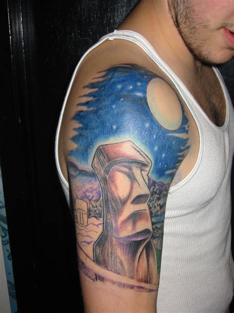 island sleeve tattoo designs who discovered way galaxy pics about space