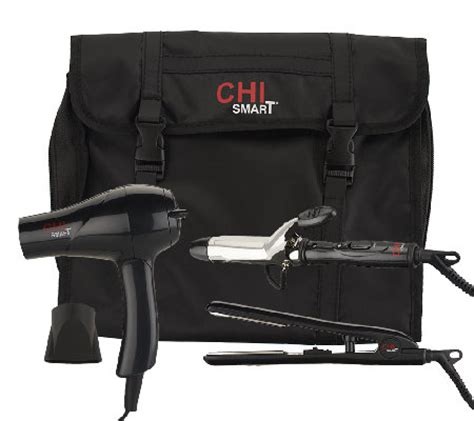 Travel Hair Dryer With Bag chi smart travel dryer styling iron curling iron w