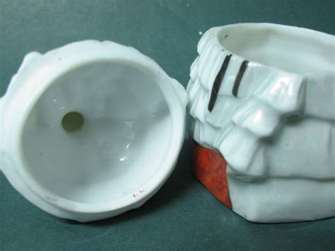 porcelain doll jewelry box antique porcelain doll powder or jewelry box ebay