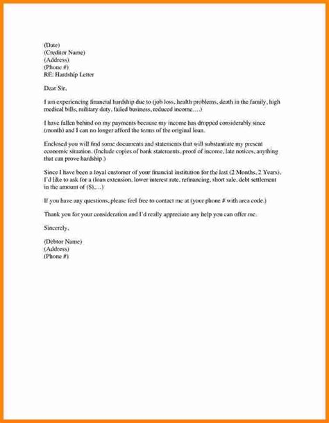 Money Support Letter Template 7 Sle Hardship Letter For Child Support Ledger Paper