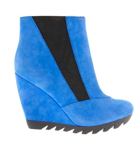 blue wedge boots gt
