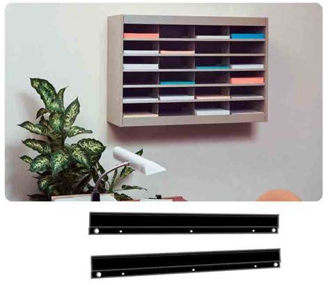 Office Wall Organizer Safco Products E Z Stor Steel Literature