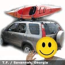 honda crv car rack for kayaks with thule 835xtr kayak rack