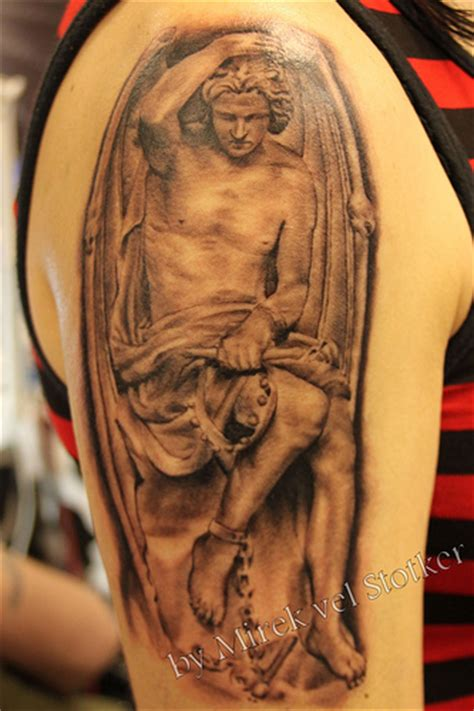 tattoo lucifer angel lucifer tattoo by mirek vel stotker flickr photo sharing