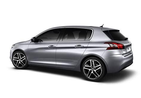 peugeot silver 2014 peugeot 308 silver rear performancedrive