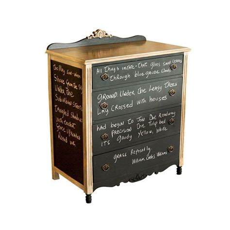 chalkboard paint exterior use beautiful vintage oak wood chest with chalkboard exterior