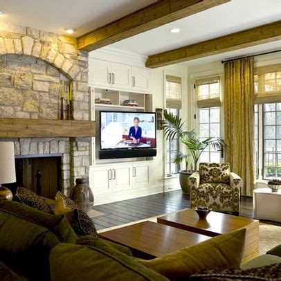 tv placement tv beside fireplace design pictures remodel decor and