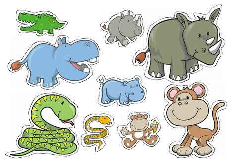 printable animal pictures for sorting wild animals worksheet printable wild animals and sea