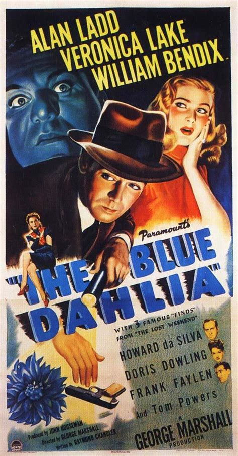 film blue dahlia 100 years of movie posters alan ladd