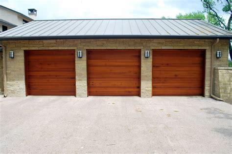 Modern Wood Garage Doors Cowart Door Custom Wood Garage Doors Modern Garage And Shed By Cowart Door Systems