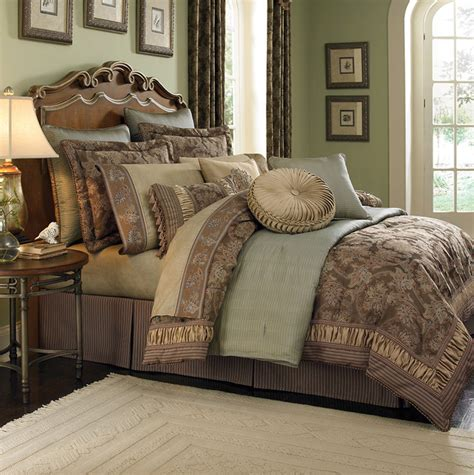 bedroom bedding sets croscill marcella 4 piece paisley comforter set