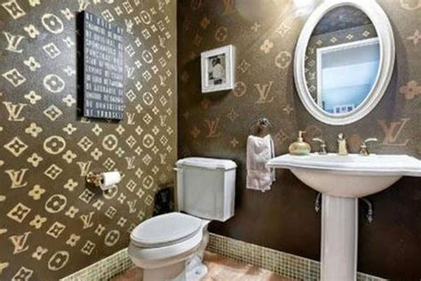 louis vuitton themed bathroom exists racked