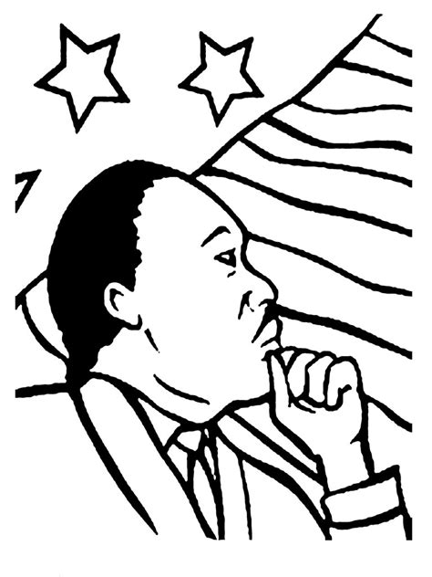 printable coloring pages martin luther king jr martin luther king jr coloring pages realistic coloring